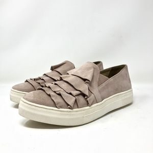 SeychellesQuake Shoes Pink Suede Slip On Loafers